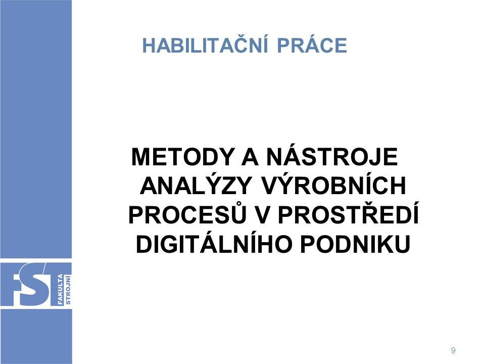 10 NÁVRH HABILITAČNÍ KOMISE Předseda: prof.Ing. Karel Macík, CSc.