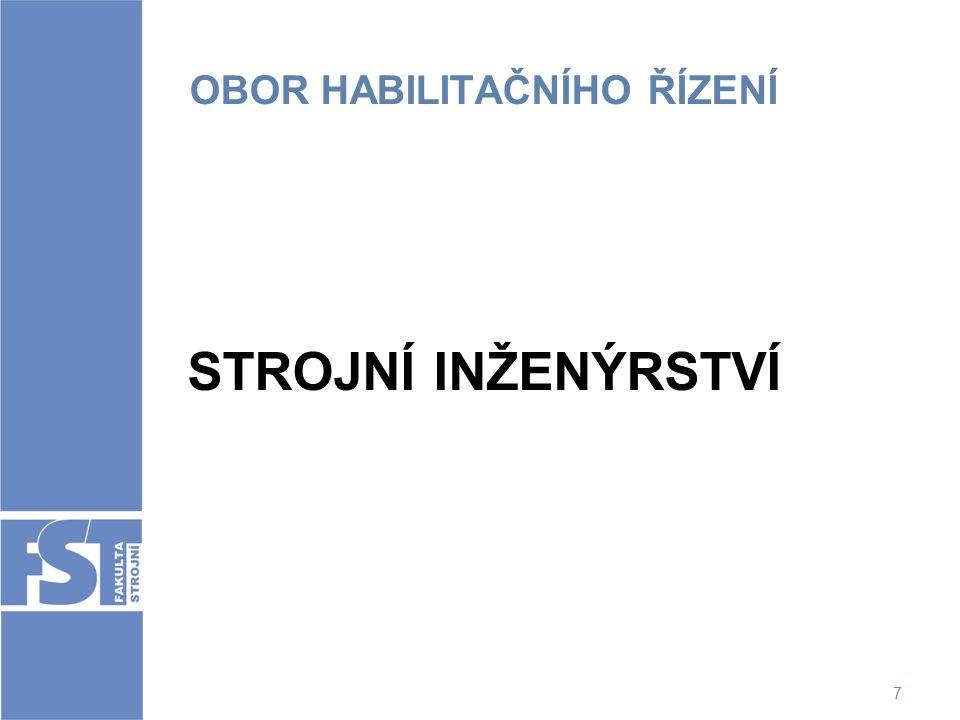 28 OBOROVÁ RADA Obor: Stavba strojů a zařízení prof.