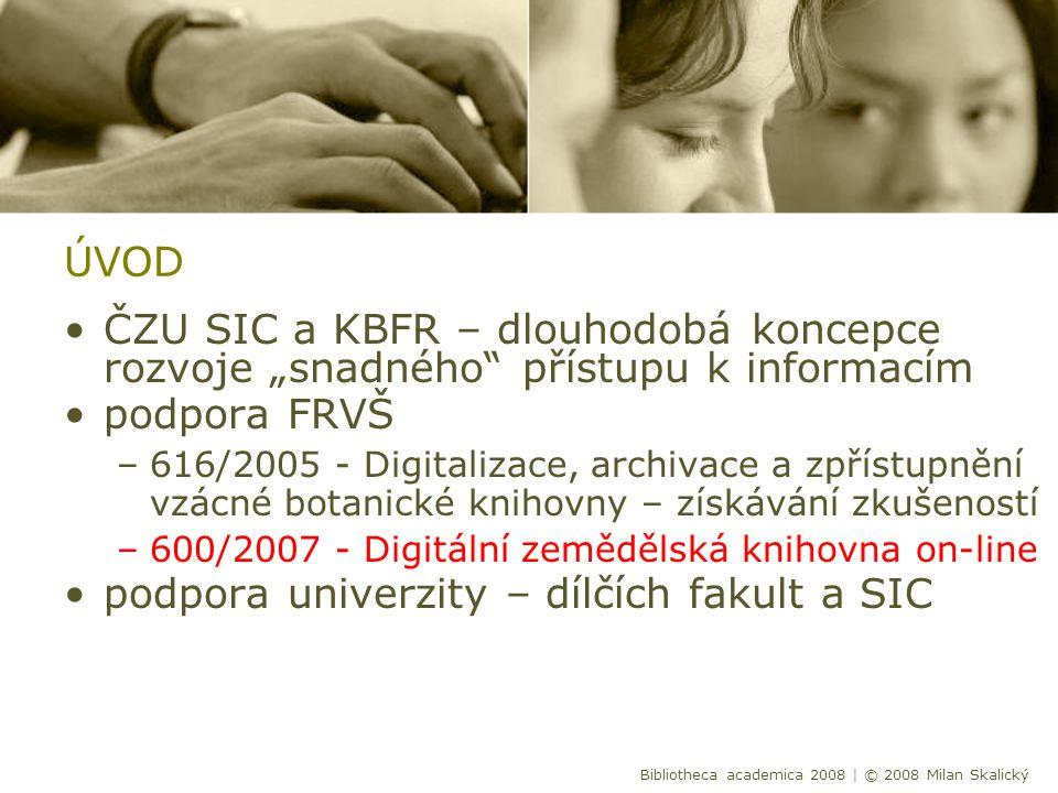 Cíle projektu Vybrané vzácné tisky v digitalizované podobě dostupné na webových stránkách ČZU v Praze s možností fulltextového vyhledávání.