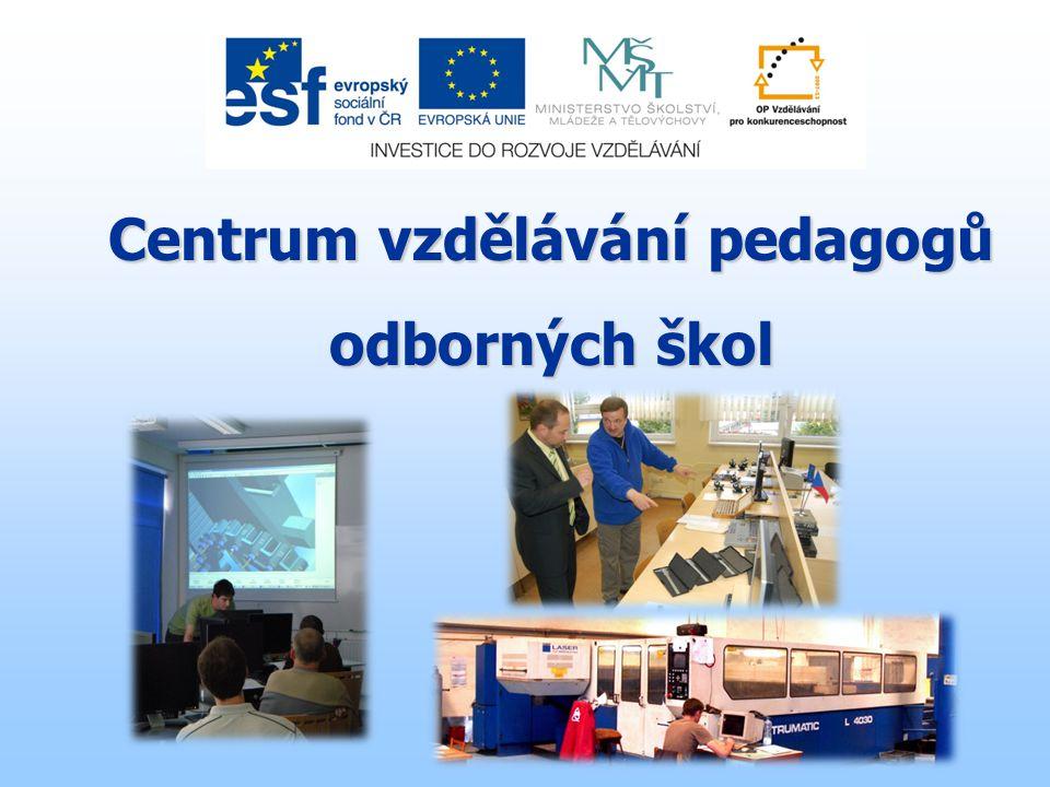 Centrum vzdělávání pedagogů odborných škol