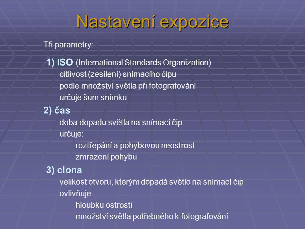 Příklady na změnu expozice 1)ISO 800, clona 8, čas 1/125 s.