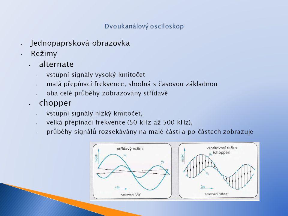 1. Napište z kterých částí se skládá osciloskop ◦ 2. Napište z kterých částí se skládá obrazovka ◦