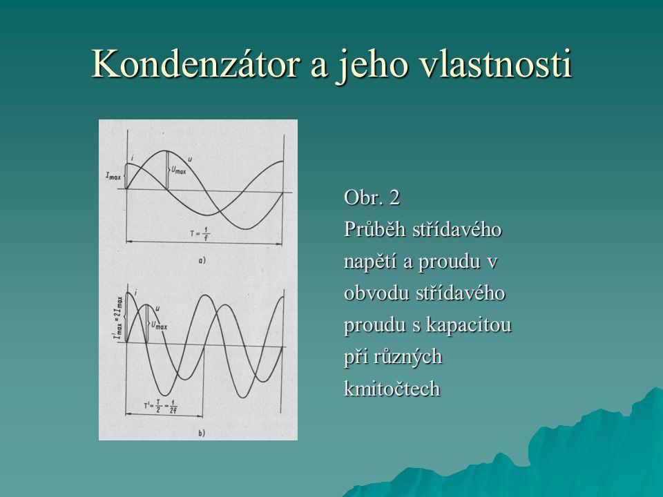 Kondenzátor a jeho vlastnosti Obr.