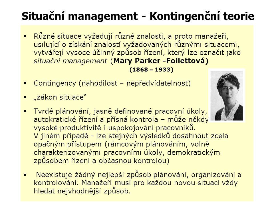 Kvantitativní management Kenneth J. Arrow – Nobelova cena za ekonomii Ragnar Frisch – Nobelova cena za rozvoj a aplikaci dynamických modelů v analýze