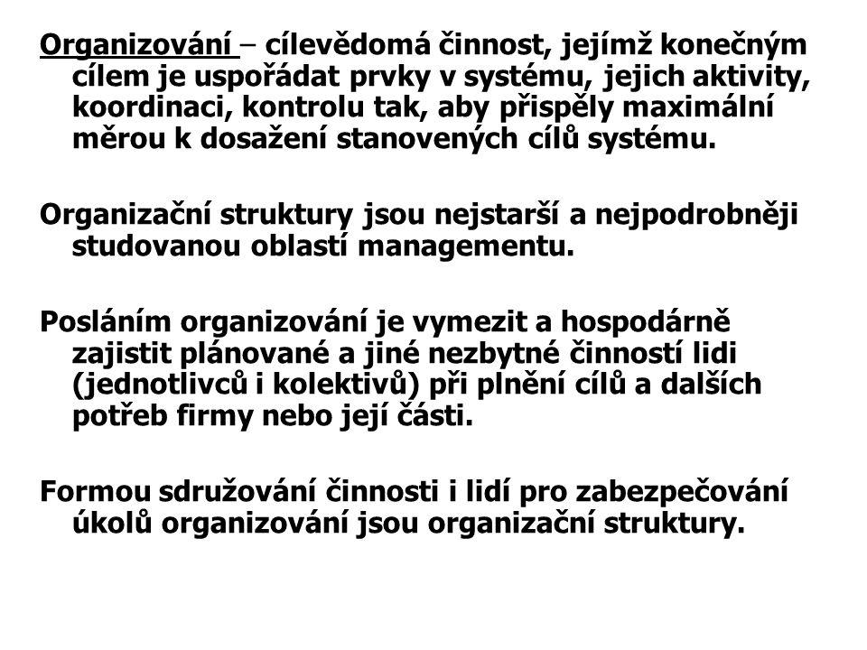 ORGANIZOVÁNÍ 3