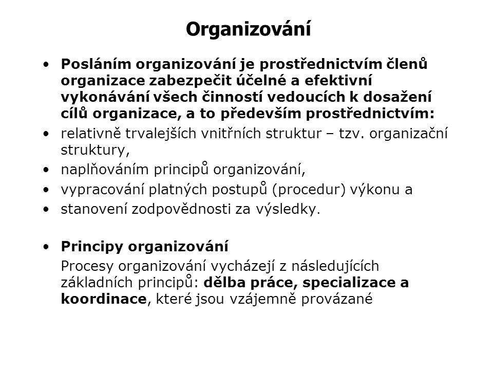 Teorie organizace Teorie organizace je interdisciplinárním vědním oborem, který se zabývá zkoumáním společenských organizací s cílem formulovat základ