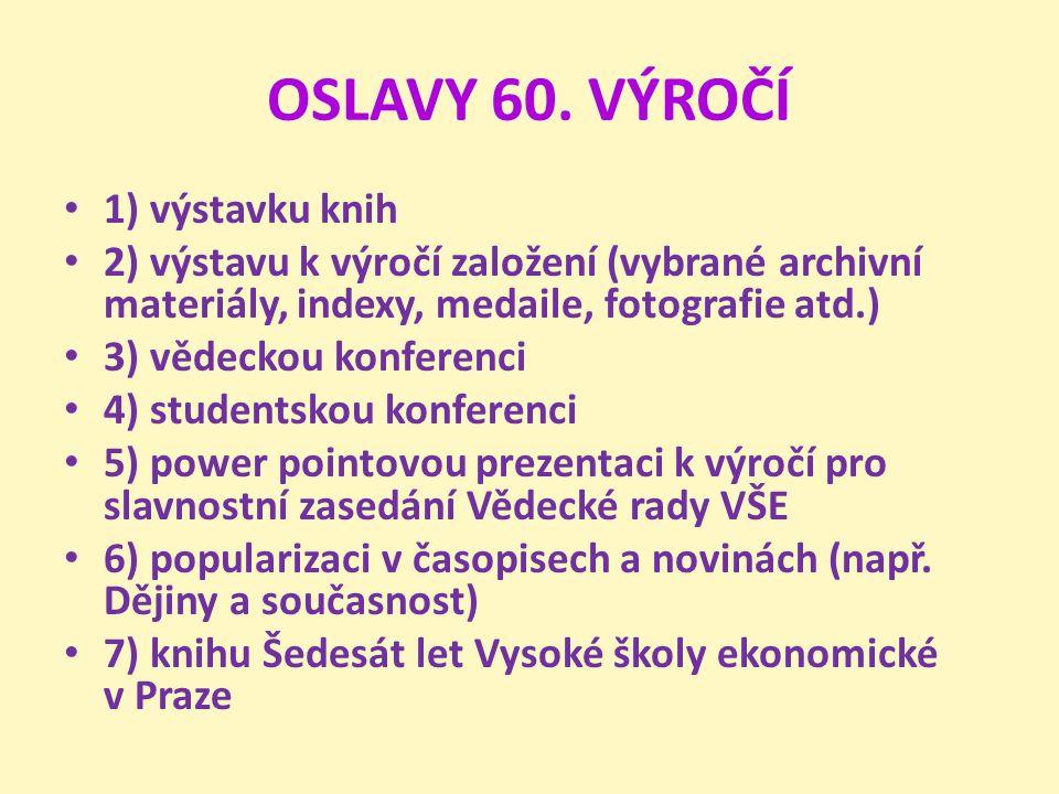OSLAVY 60.