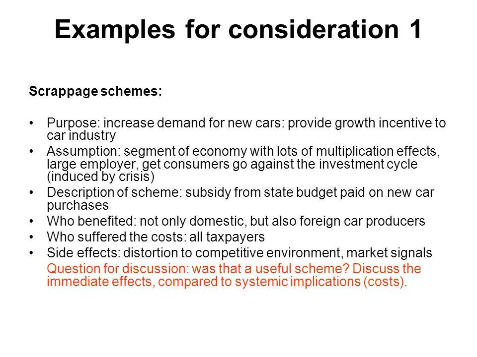 """Issues"""" hospodářské politiky Problém očekávání (očekávání jako hybný motor ekonomiky) Fenomén vested interests Fenomén zakrývaných motivů Fenomén """"kapka v moři"""