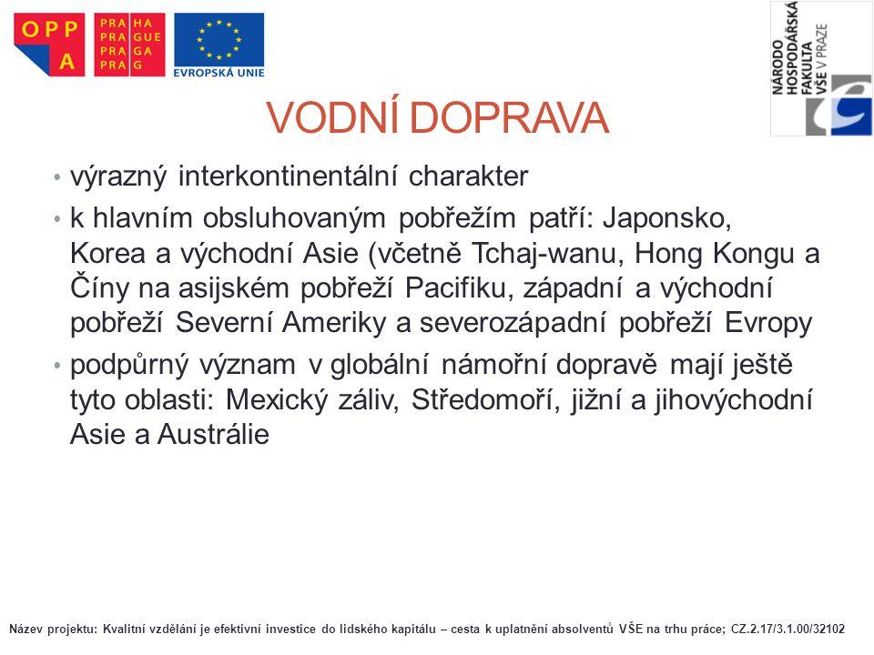VÝZNAM A TRENDY V DOPRAVĚ V ČR Železniční doprava  Provozní délka železničních tratí byla v roce 2004 celkem 9 612 km, z čehož bylo 2 982 km (31 %) tratí elektrizovaných, mezi něž patří hlavní mezinárodní koridory.