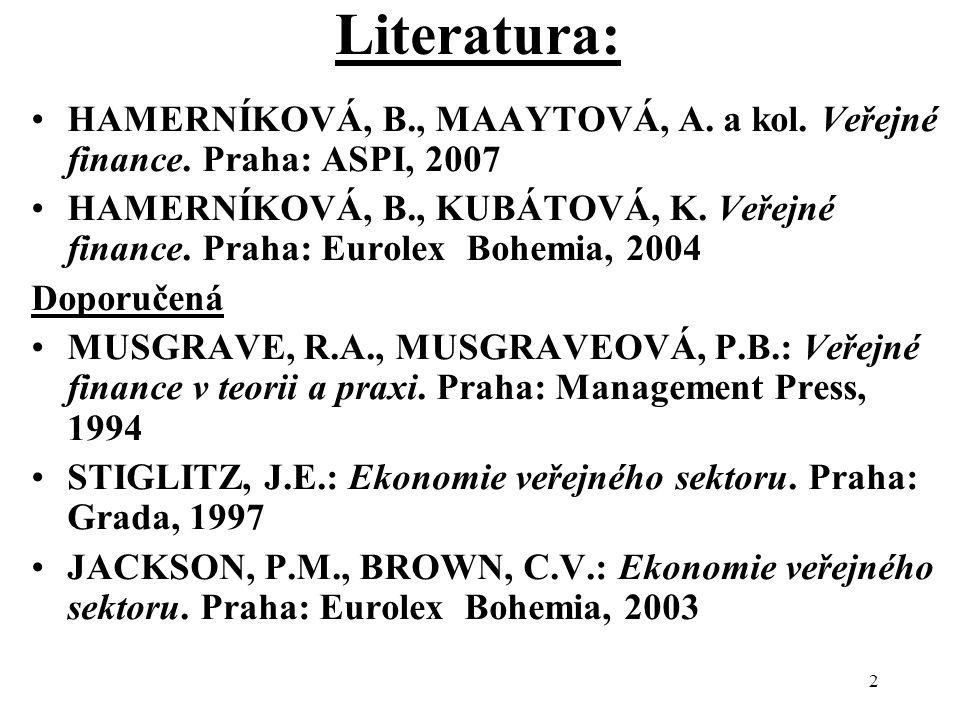 2 Literatura: HAMERNÍKOVÁ, B., MAAYTOVÁ, A.a kol.