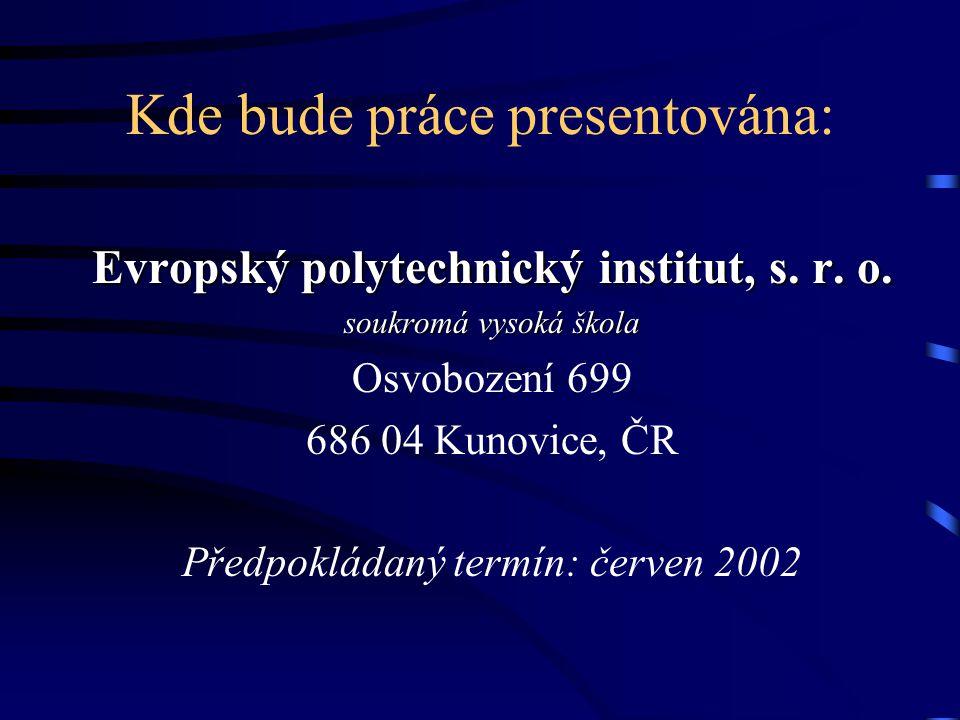 Základní literatura: Kohout, P.: Investiční strategie pro třetí tisíciletí, Grada, Praha 2000 Ševčík, A.: Finanční investice, EPI, s. r. o. Kunovice 2