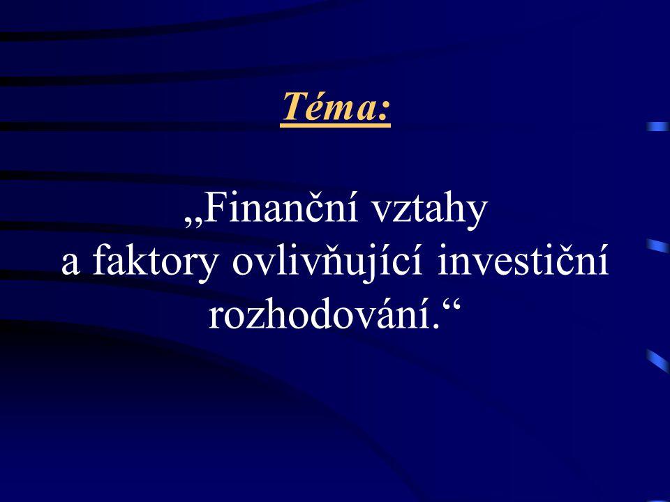 Téma bakalářské práce Michal Dvouletý obor Finance a daně Evropský polytechnický institut, s. r. o. soukromá vysoká škola