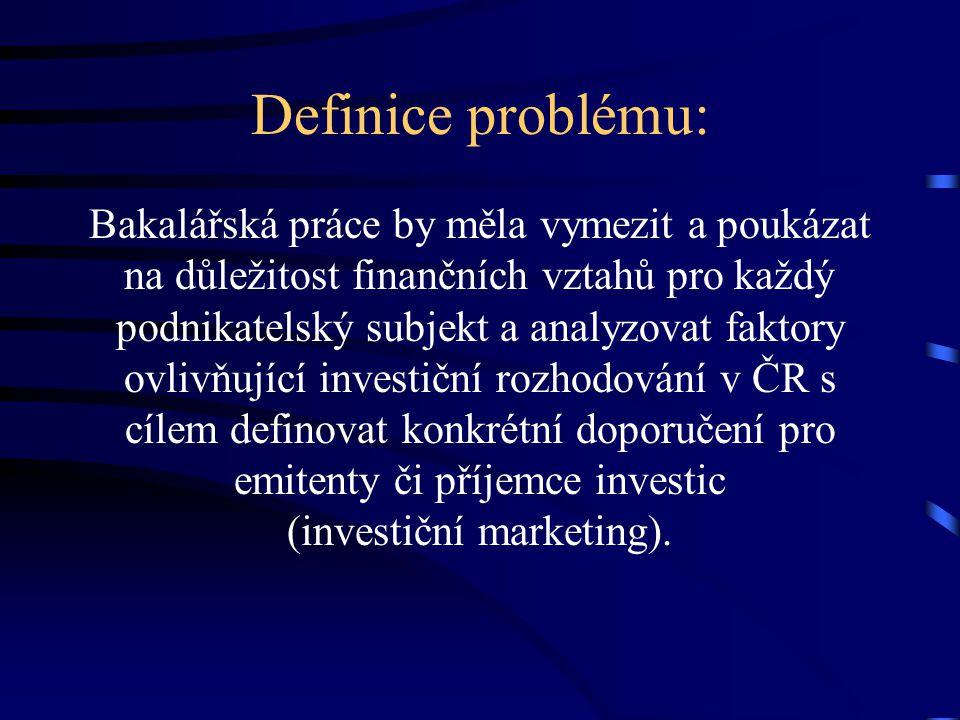 Práce zpracována pro: ČEKIA Česká kapitálová informační agentura, a.s. Opletalova 5, 111 44 Praha 1 www.cekia.cz