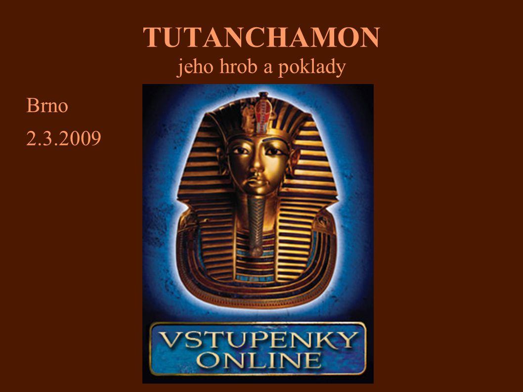 TUTANCHAMON jeho hrob a poklady 12.faraón 18.