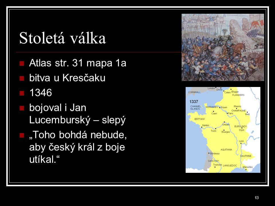 Stoletá válka Atlas str.