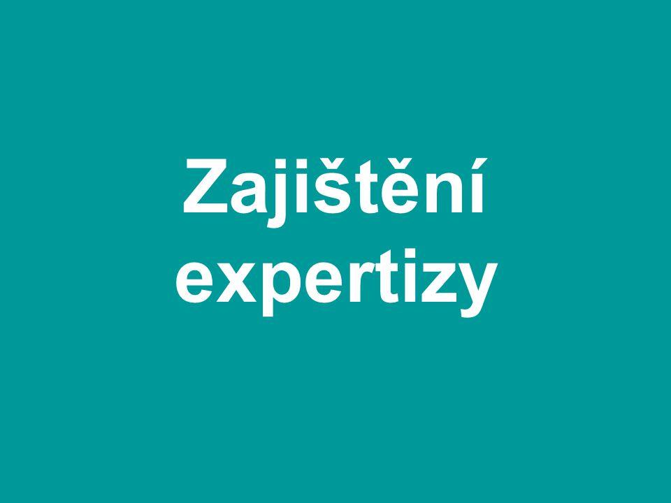 Zajištění expertizy