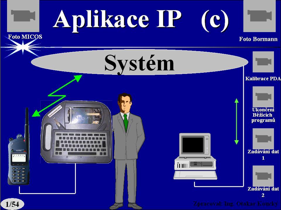 Zpracoval: Ing. Otakar Koucký Datové přenosy SMS aplikaceSMS aplikace - SMS individuální - SMS 1 ( pevná adresa) - STATUS individuální - STATUS 1 ( pe