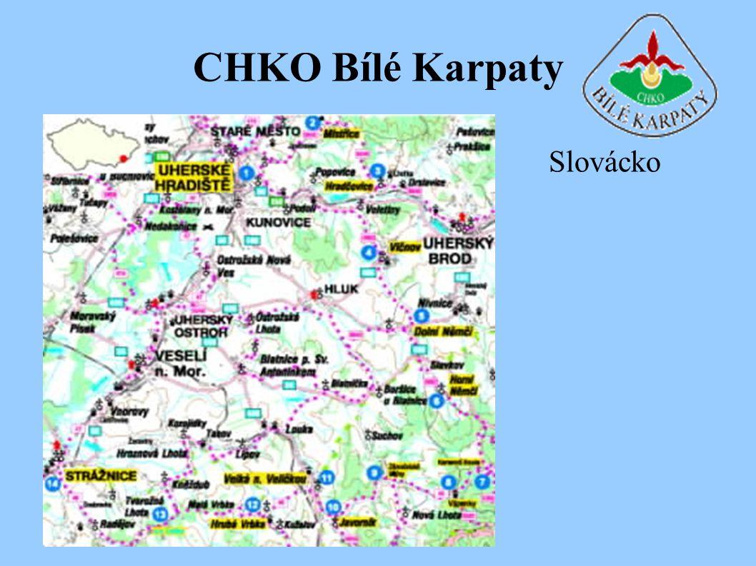 CHKO Bílé Karpaty Slovácko
