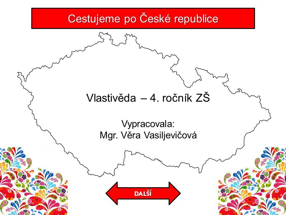 KONTROLA Cestujeme po České republice Jeskyně s vápencovými krápníkovými útvary.