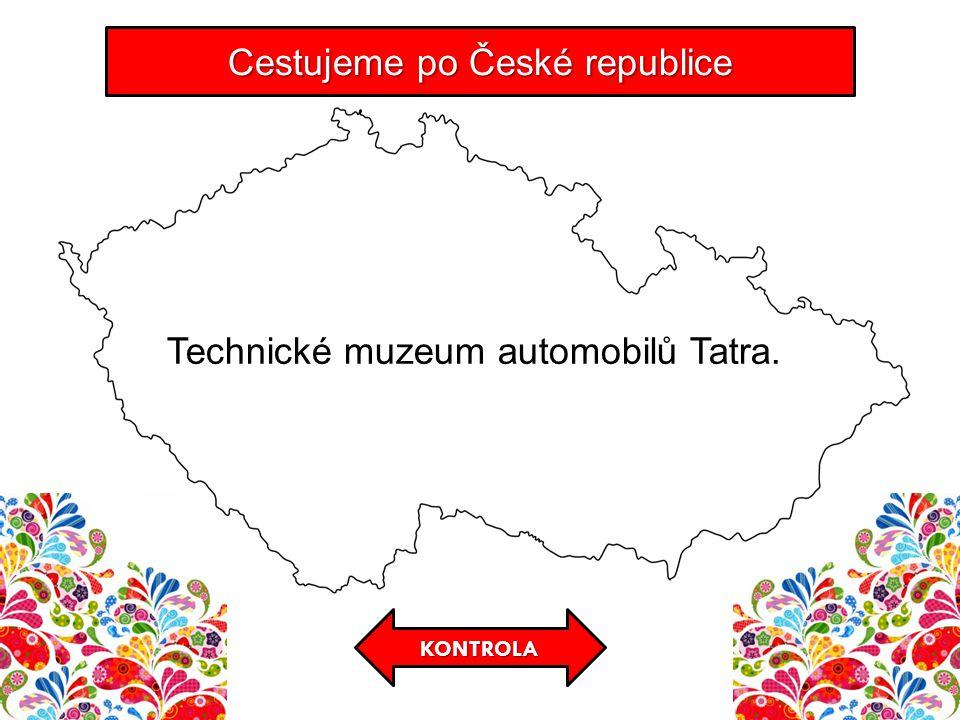 KONTROLA Cestujeme po České republice Technické muzeum automobilů Tatra.