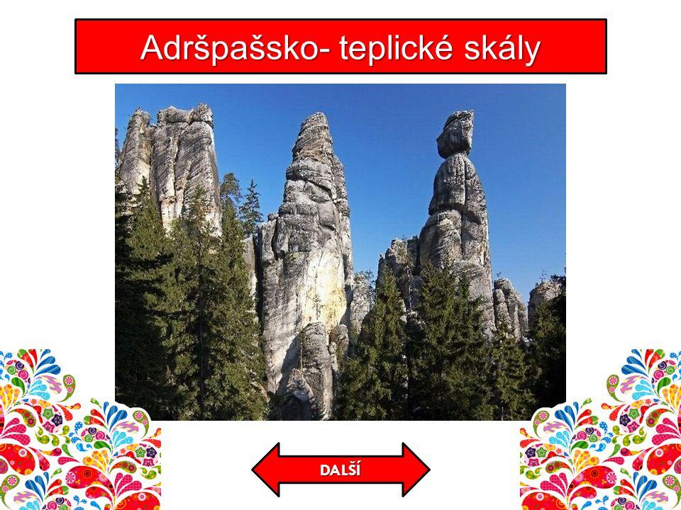 Adršpašsko- teplické skály DALŠÍ