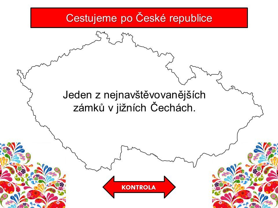 KONTROLA Cestujeme po České republice Jeden z nejnavštěvovanějších zámků v jižních Čechách.
