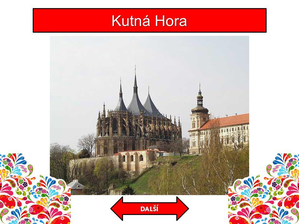 KONTROLA Cestujeme po České republice Středověký hrad založený Karlem IV.