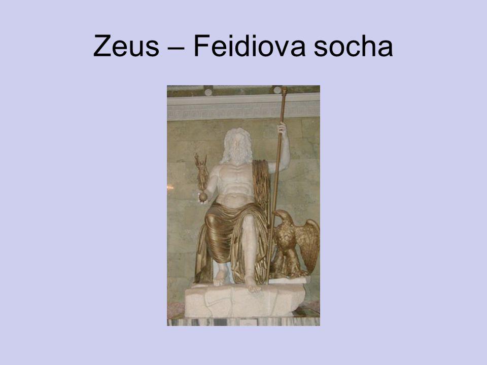 Zeus – Feidiova socha