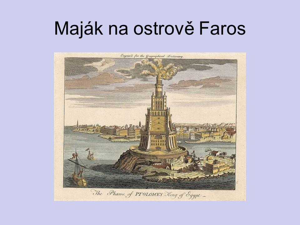 Maják na ostrově Faros