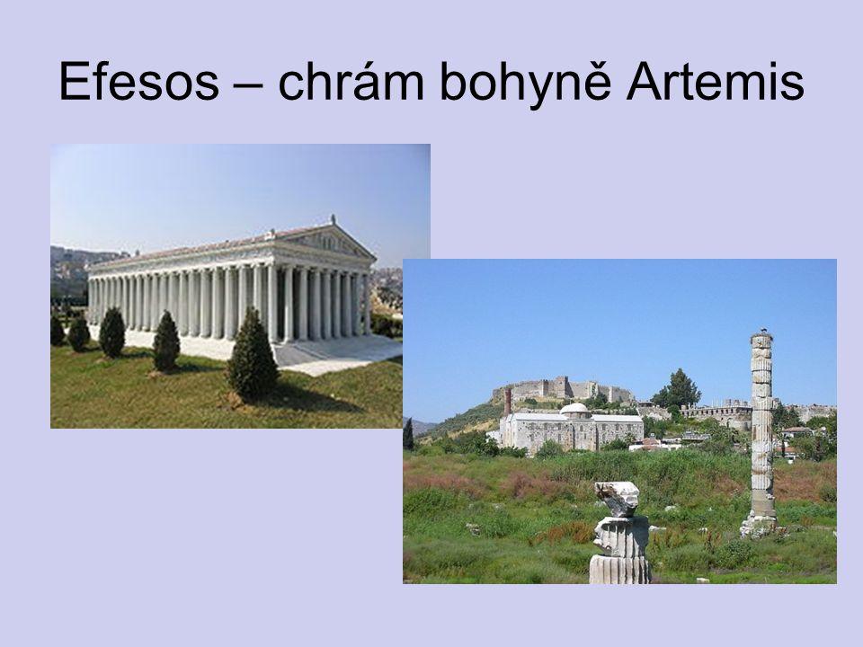 Efesos – chrám bohyně Artemis