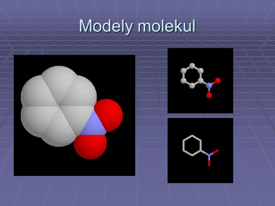 Modely molekul