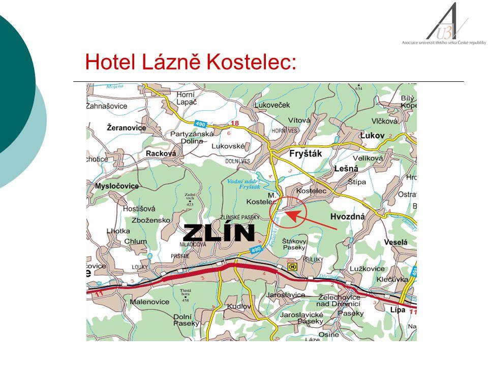 Hotel Lázně Kostelec: