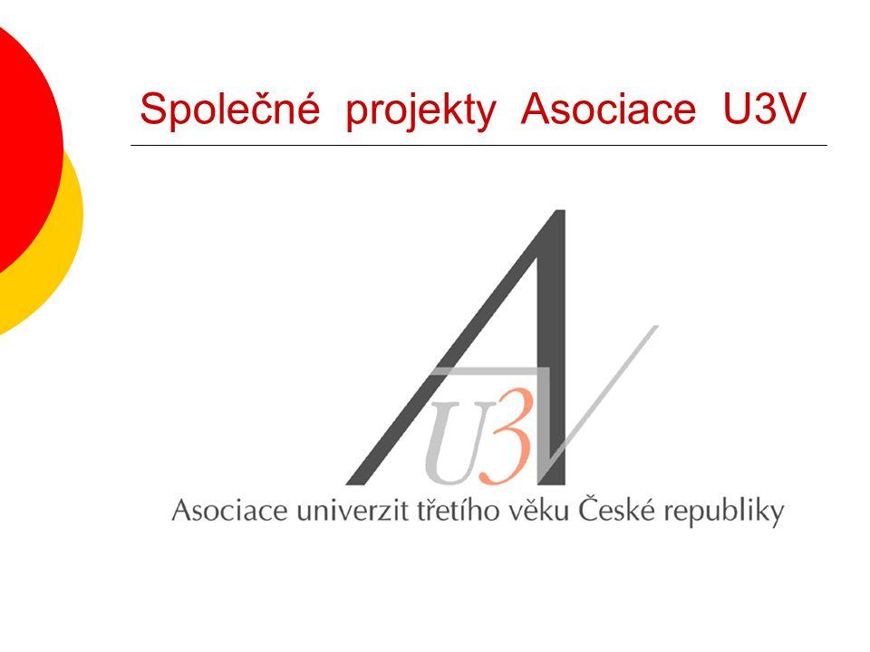 Společné projekty Asociace U3V