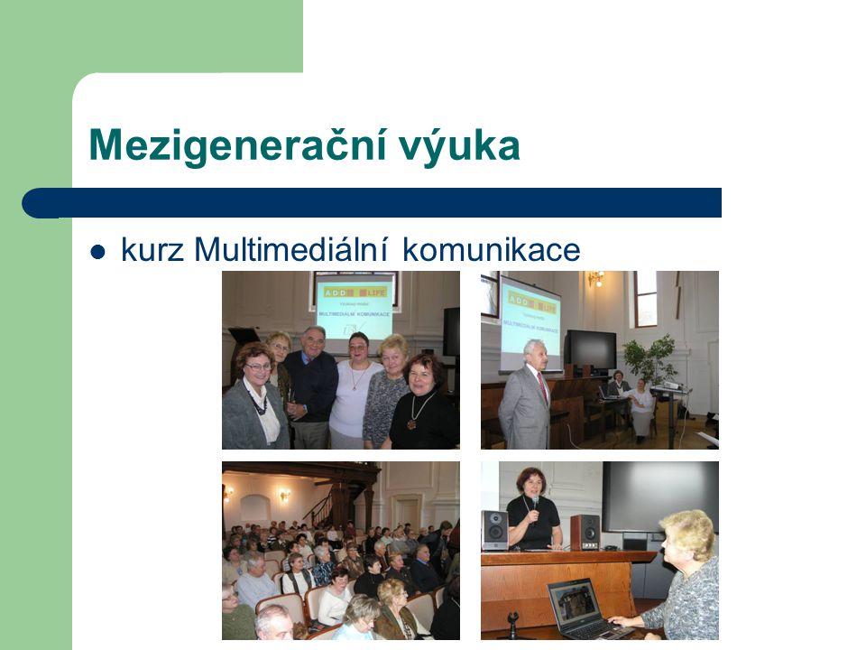 Mezigenerační výuka kurz Multimediální komunikace