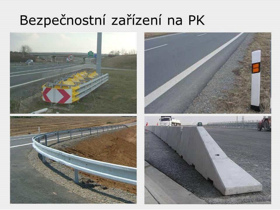 Bezpečnostní zařízení na PK