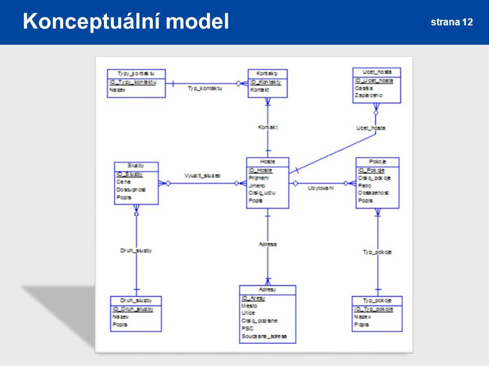 Konceptuální model strana 12