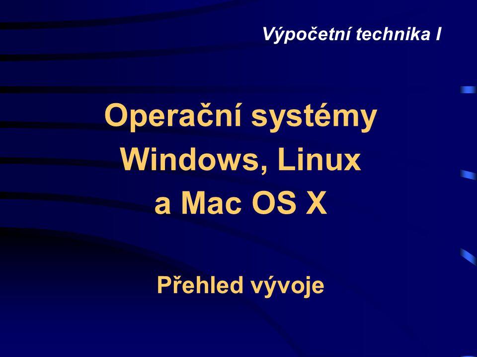 Operační systémy prezentace