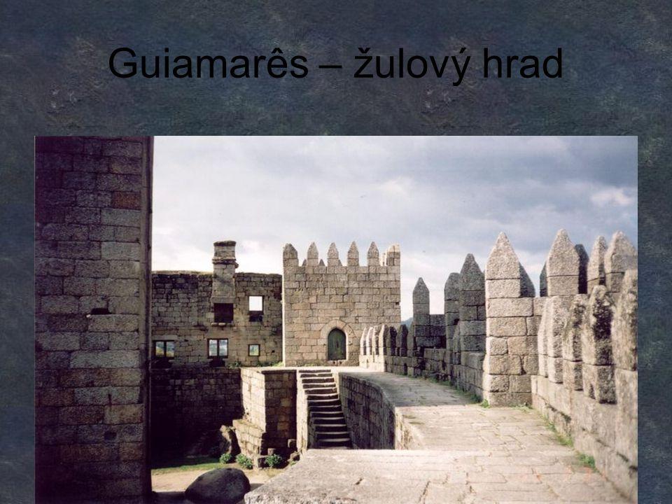 Guiamarês – žulový hrad