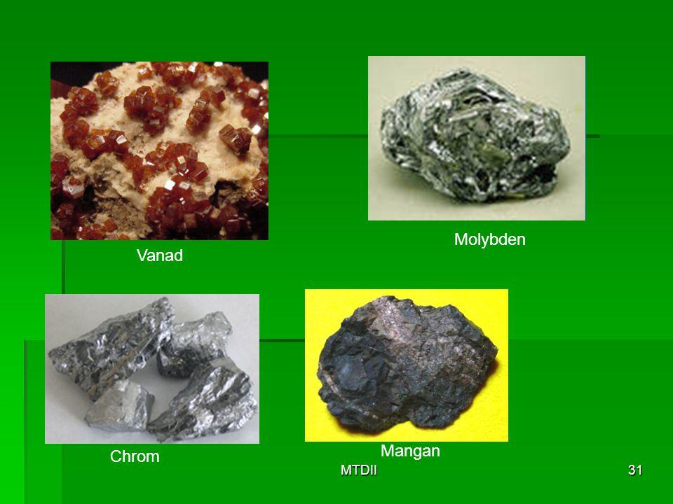 MTDII31 Chrom Mangan Vanad Molybden