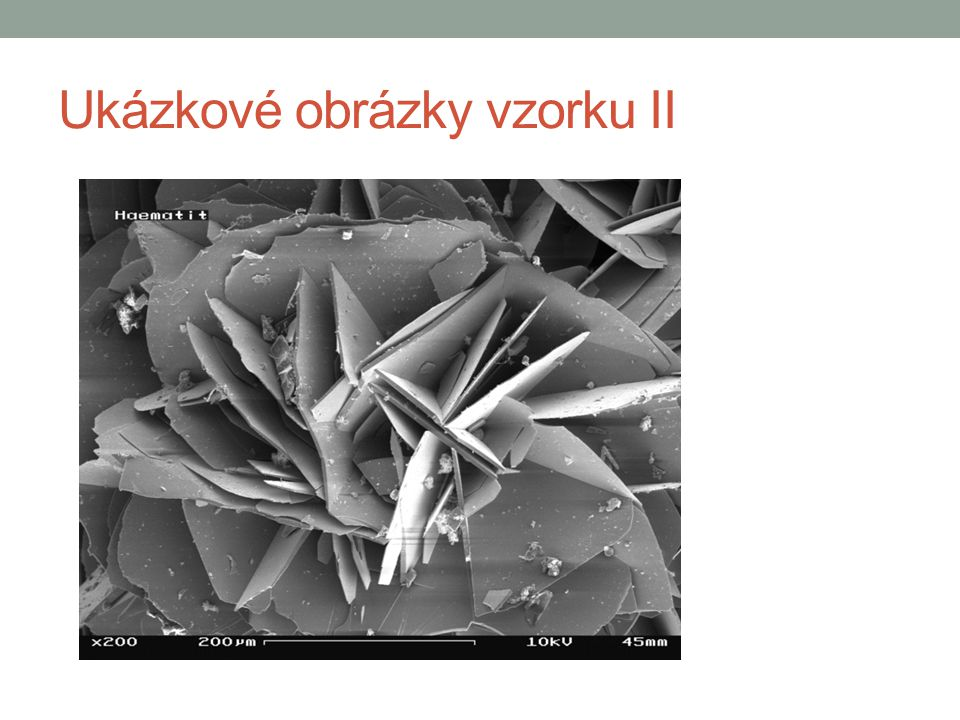 Ukázkové obrázky vzorku II