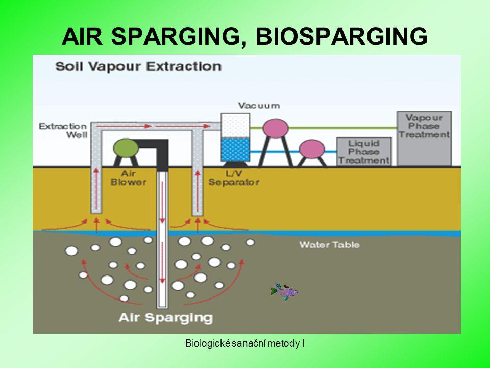 Biologické sanační metody I AIR SPARGING, BIOSPARGING