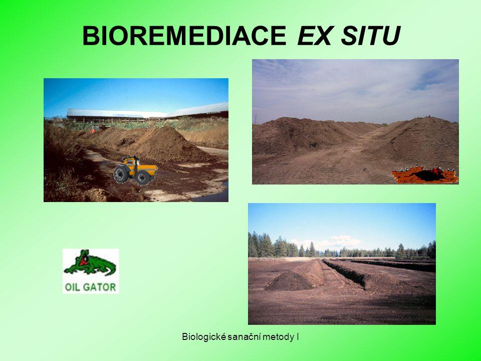 Biologické sanační metody I BIOREMEDIACE EX SITU