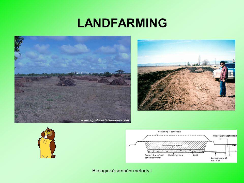 Biologické sanační metody I LANDFARMING