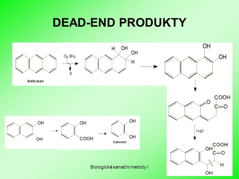 Biologické sanační metody I DEAD-END PRODUKTY