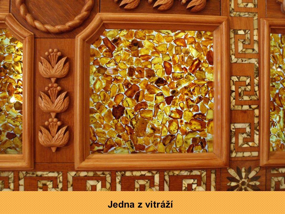 Zlomek mozaiky na stěně