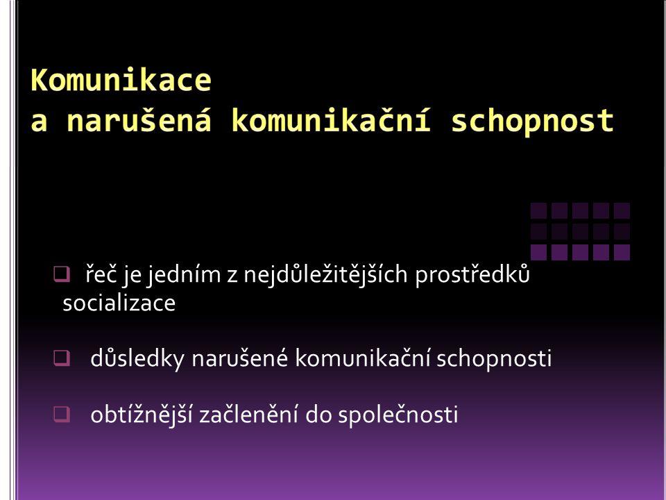 JANOVCOVÁ, Z.Alternativní a augmentativní komunikace.