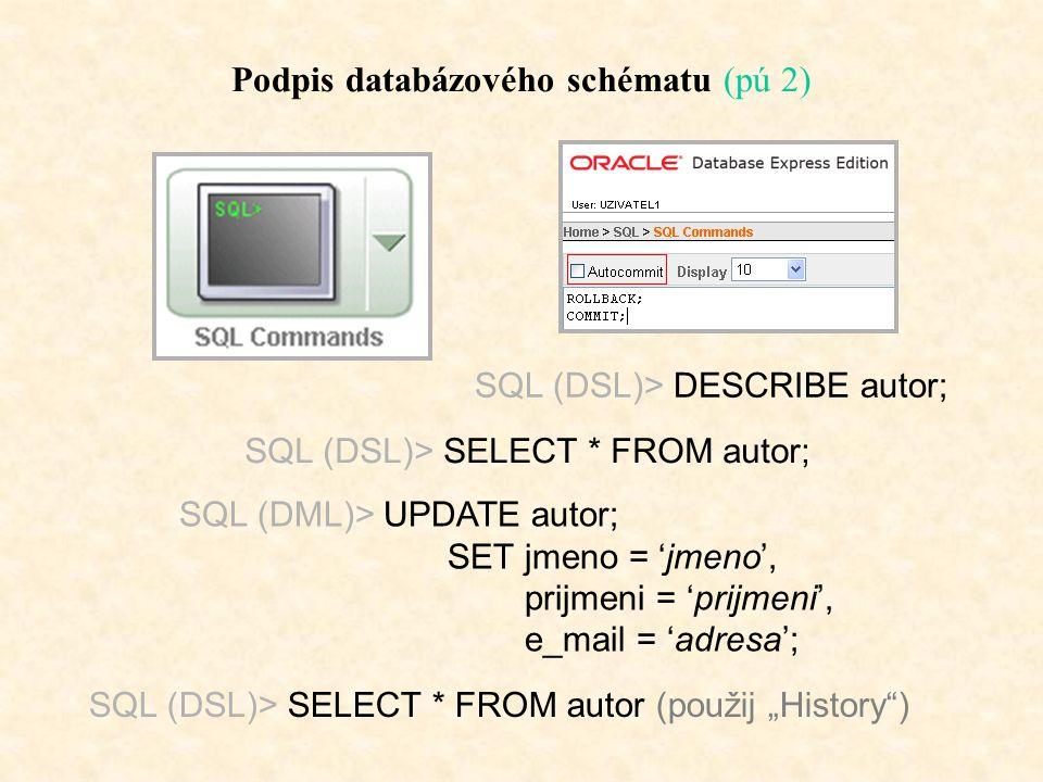 """Implementace databáze – datové typy MS Access Vybrané datové typy Oracle: Integer / Int číslo typu Integer (-3*10 4 - 3*10 4 ) Number číslo s dvojitou s téměř libovolnou Varchar2 textový řetězec typu Varchar Date """"dlouhé datum Memo """"neomezeně dlouhý formátovaný text Blobbinární data / obrázek Clobbinární data / dokument a některé další…."""