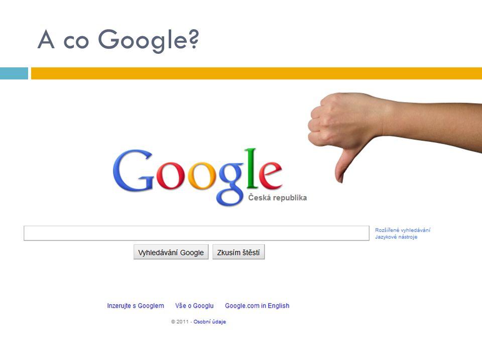 A co Google?