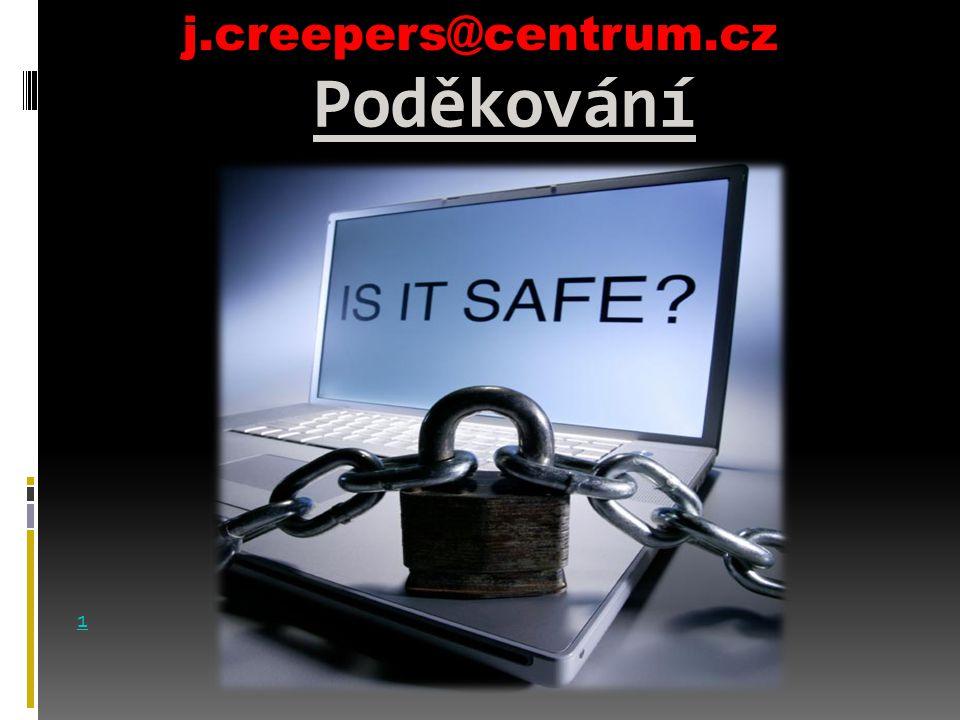 Poděkování j.creepers@centrum.cz 1