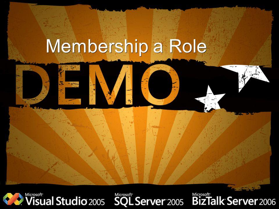 Membership a Role
